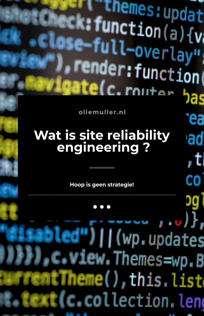 Site Reliability Engineers